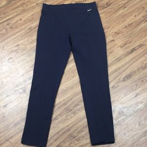 Calvin Klein Navy Blue Power Stretch Pants